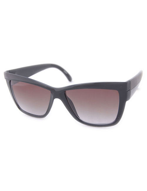 arabella black black sunglasses