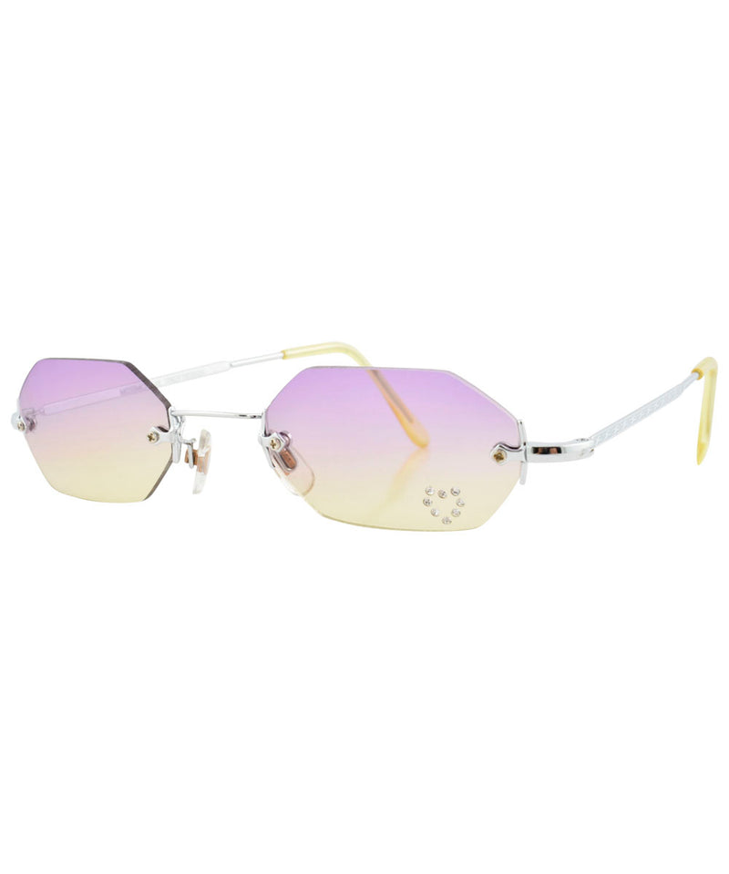 mary kate purple yellow sunglasses