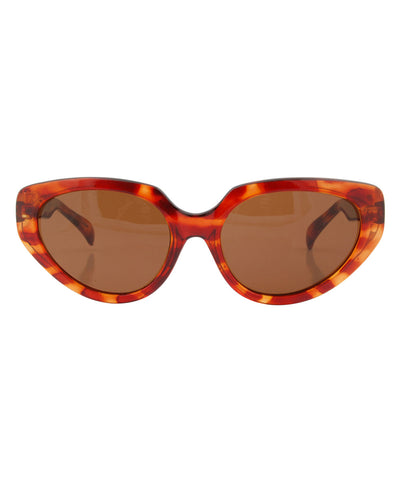 maxine demi brown sunglasses