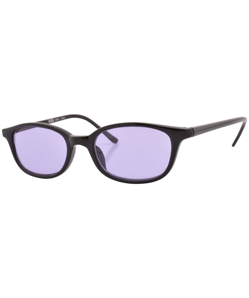 mazzy black purple sunglasses