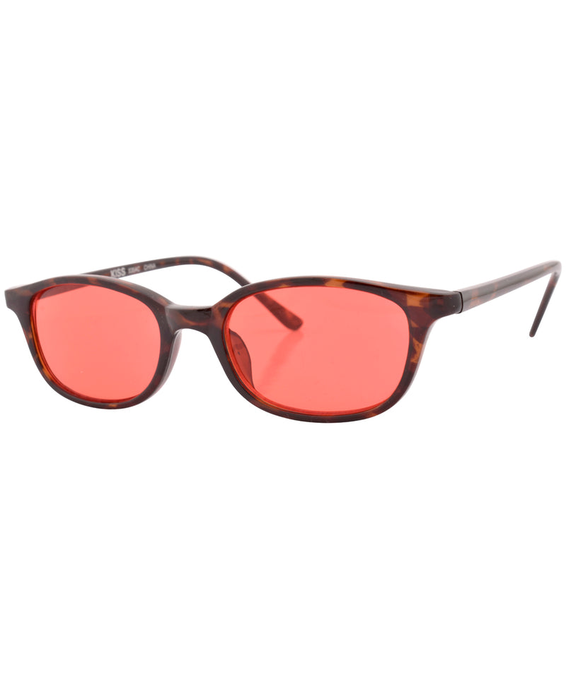 mazzy demi red sunglasses