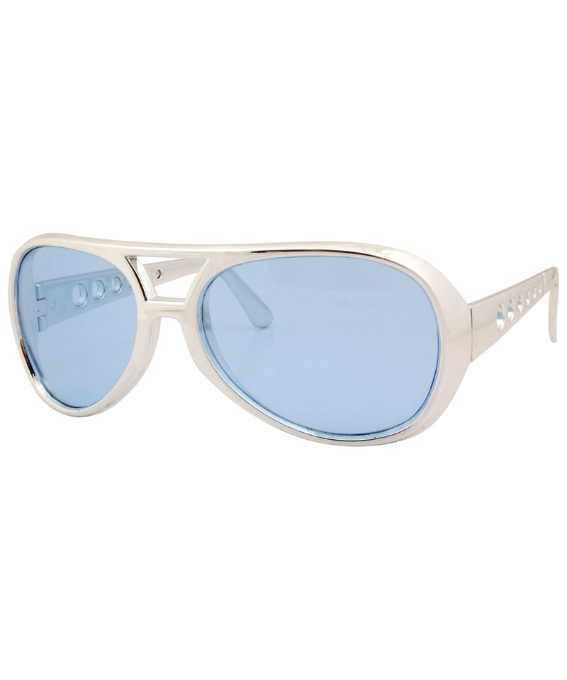 melvis blue sunglasses