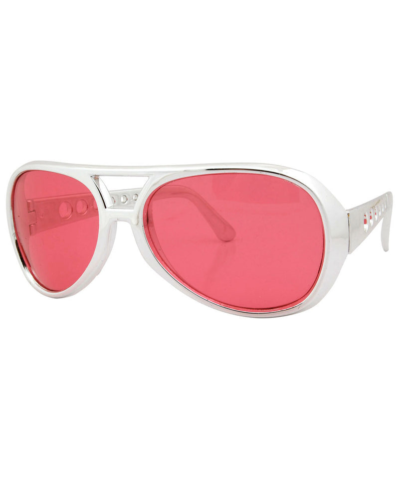 melvis red sunglasses