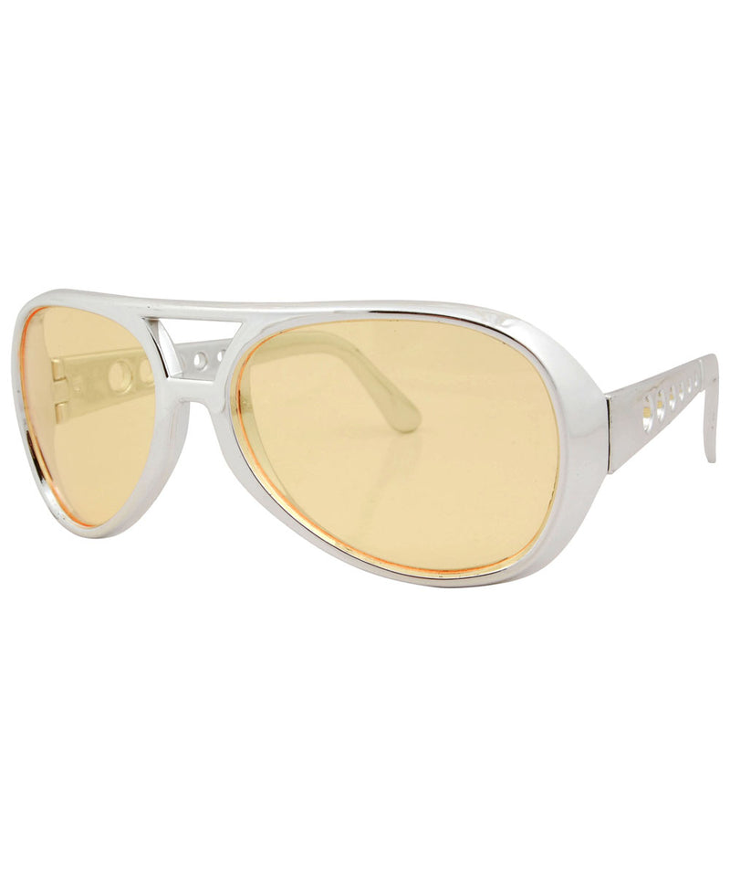 melvis yellow sunglasses