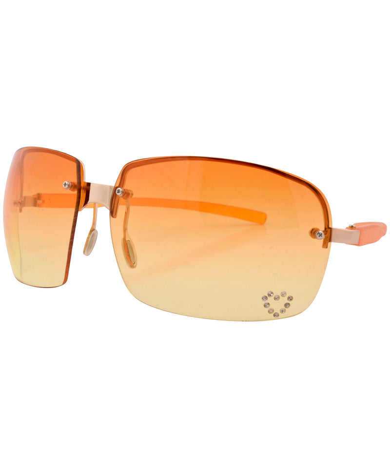 mercy orange sunglasses