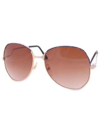 merz gold purple sunglasses
