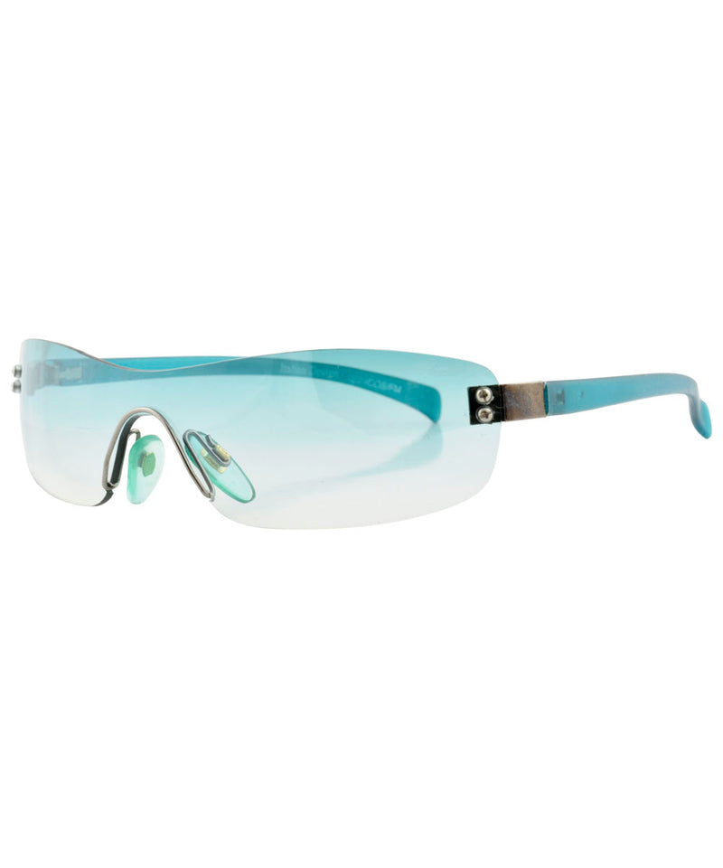 micro wave aqua sunglasses