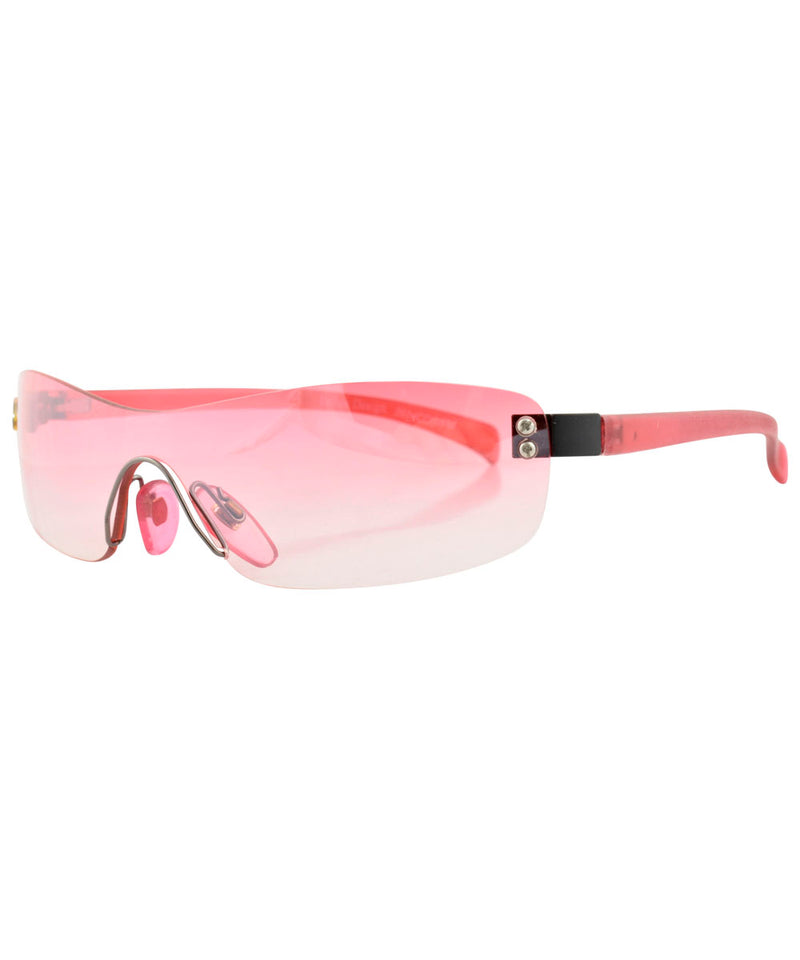 micro wave pink sunglasses