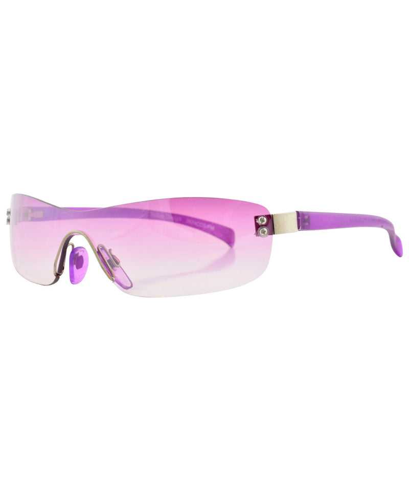 micro wave purple sunglasses