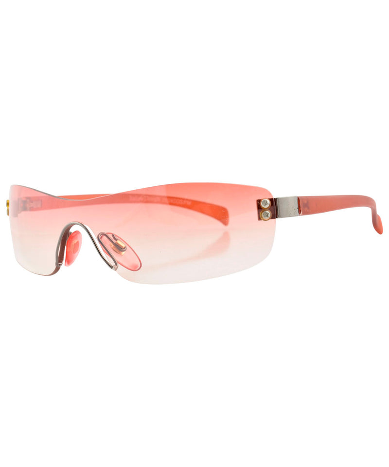 micro wave red sunglasses