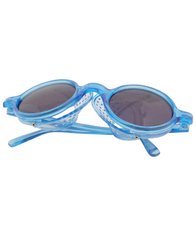micro blue sunglasses