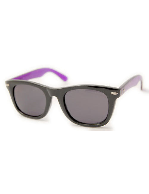 midway black purple sunglasses