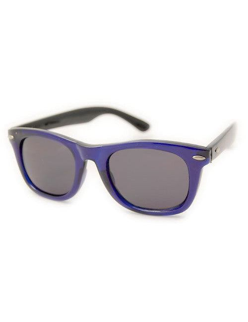midway blue black sunglasses