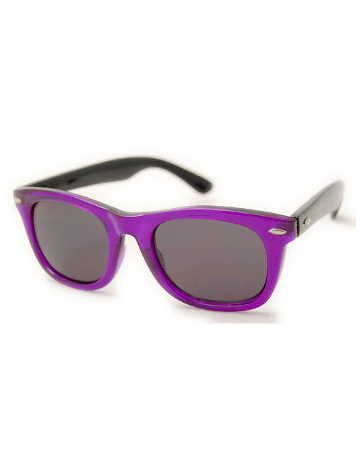 midway purple black sunglasses