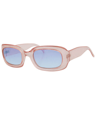 milky pink sunglasses