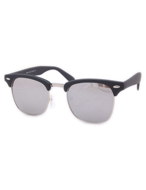 milo matte black sunglasses