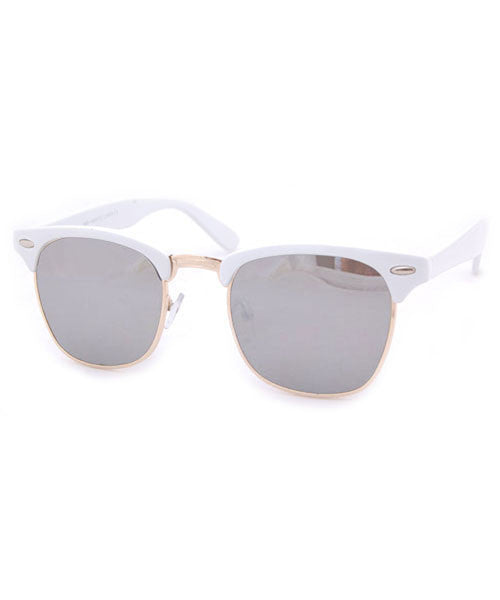milo white sunglasses