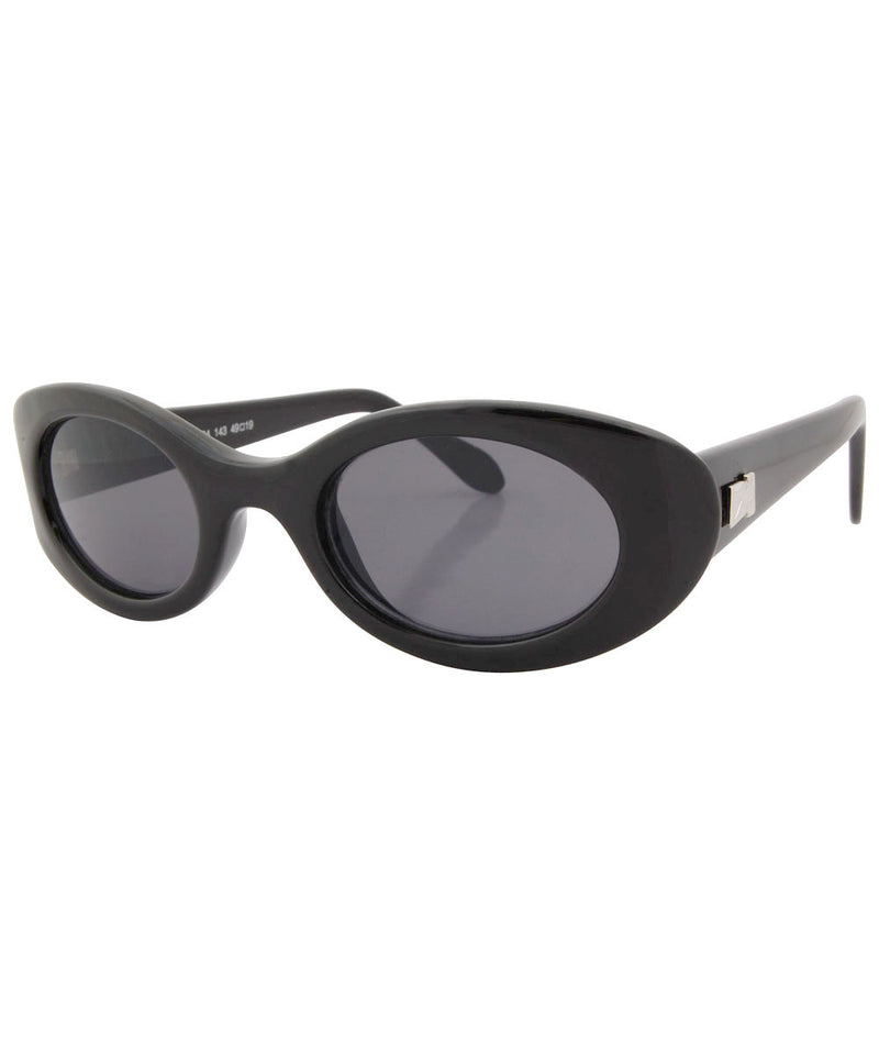 minnow black sunglasses