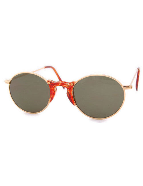 minute gold sunglasses