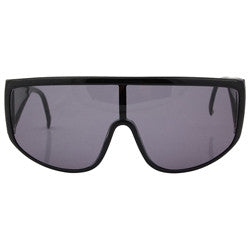 modernist black sunglasses