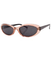 monkey pink sunglasses