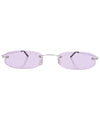 monster purple sunglasses