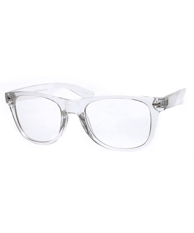 monty crystal clear sunglasses
