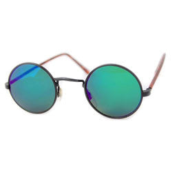 moon black aqua sunglasses