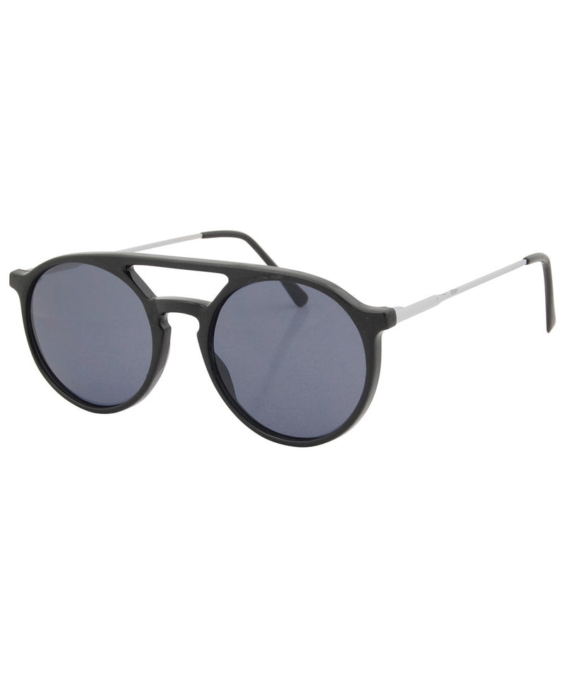 moore gloss black sunglasses
