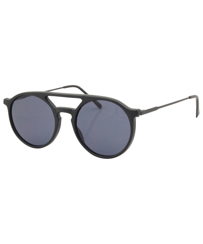 moore matte black sunglasses