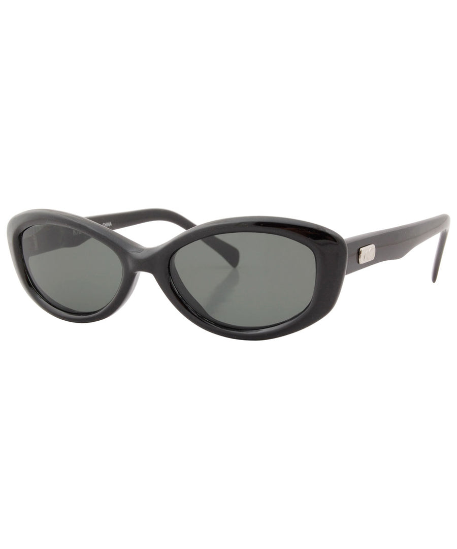 mott black green sunglasses