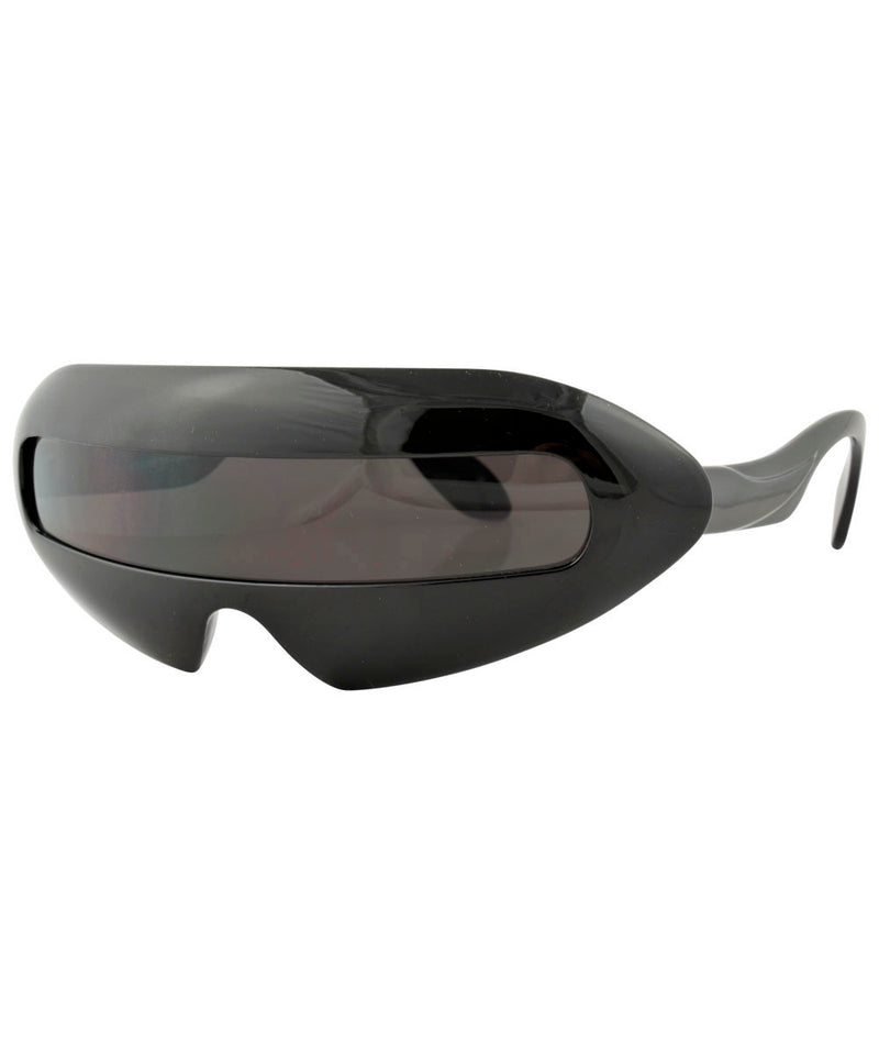 mouth black sunglasses