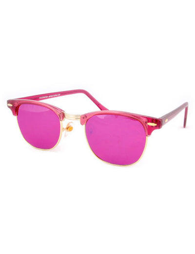 soho magenta sunglasses