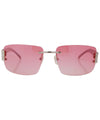 music pink sunglasses