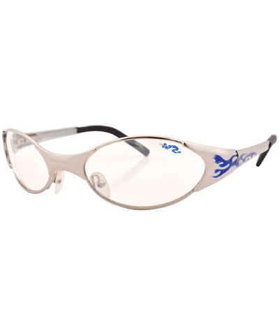 mythic silver clear sunglasses