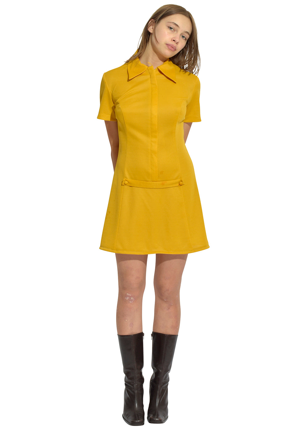 Marigold Collard Service Dress