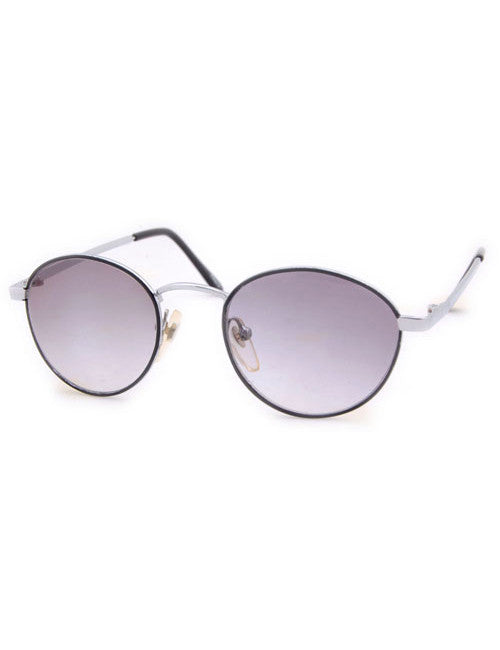 mcguire black silver sunglasses