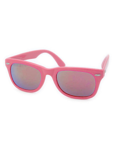 way o hot pink sunglasses
