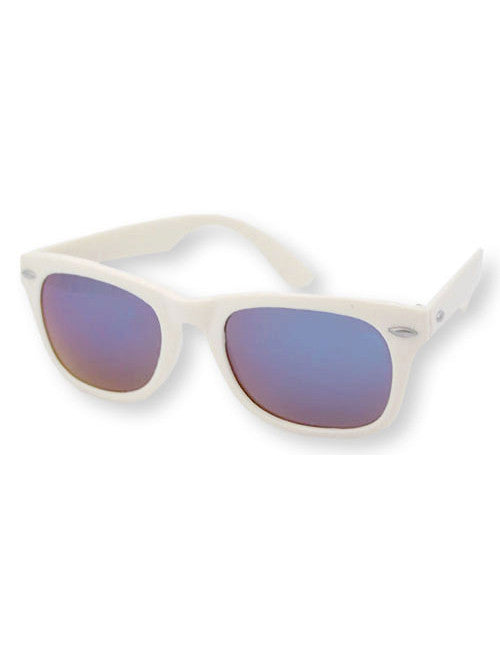 way o white sunglasses