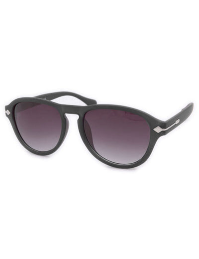 natchez matte black sunglasses