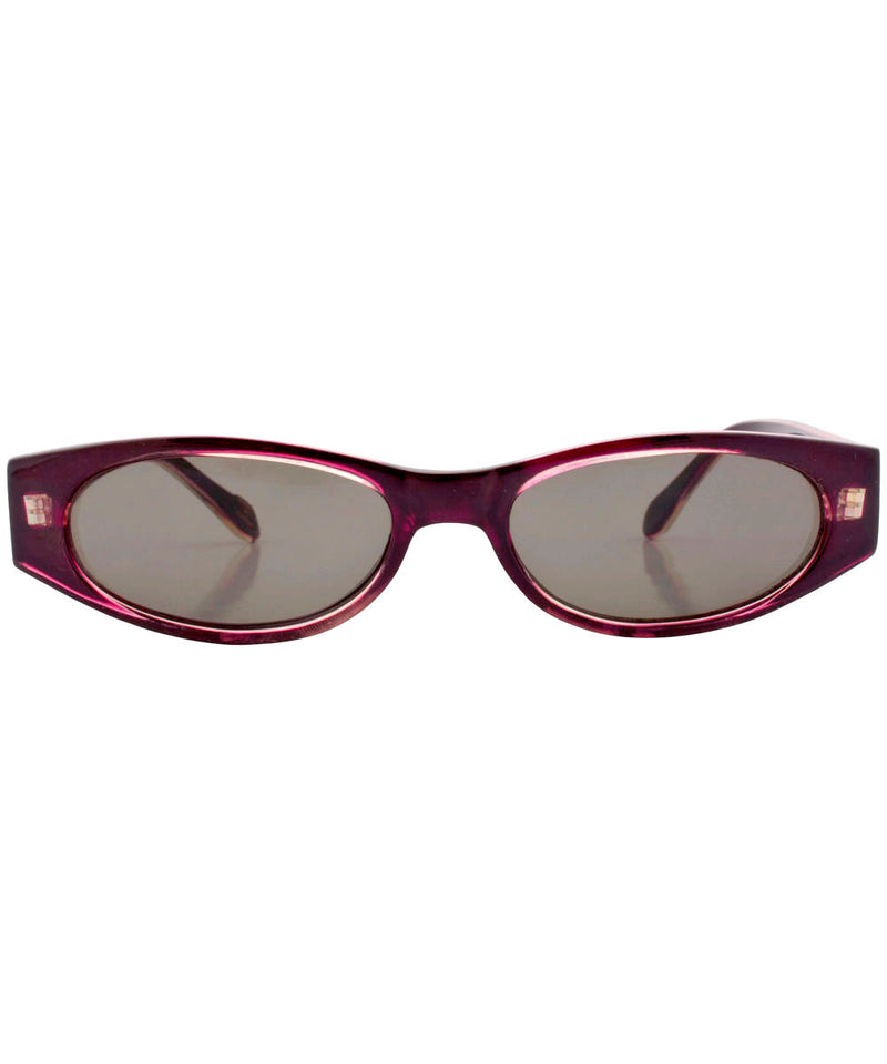 need um burgundy sunglasses