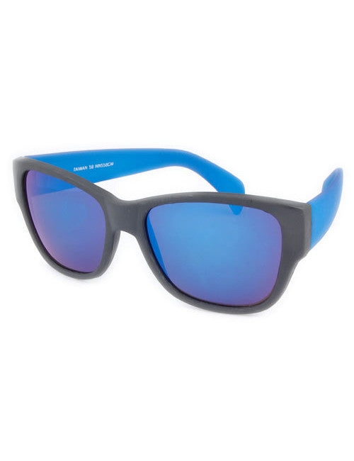 vacation blue sunglasses