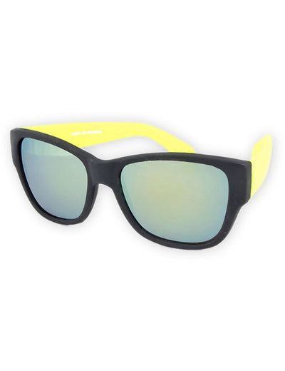 vacation yellow sunglasses