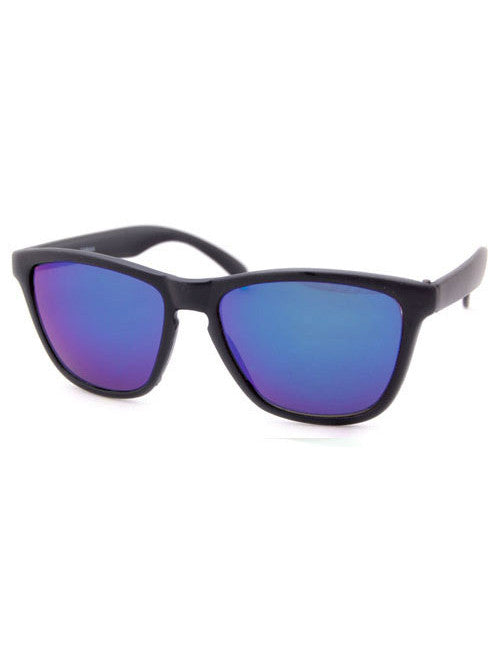 northstar black aqua sunglasses