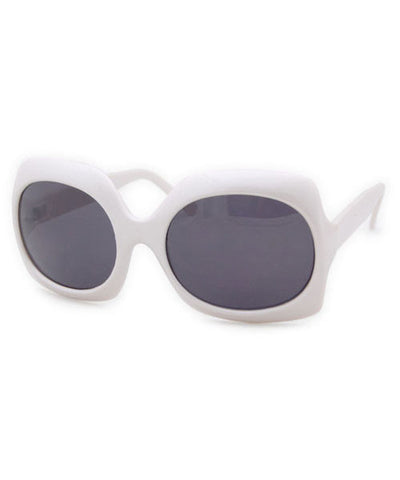 nouvelle white sunglasses