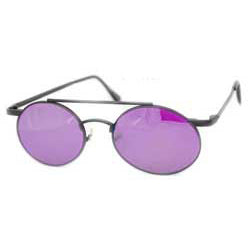 novella black purple sunglasses