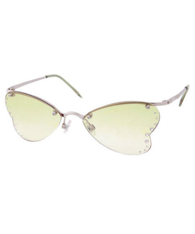 nympha green sunglasses