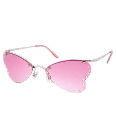 nympha pink sunglasses