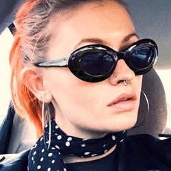 object black sunglasses