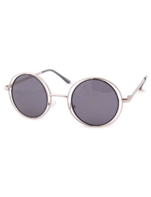 obscura chrome circle sunglasses